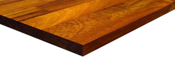 Drewniane blaty kuchenne – jasna Hevea czy ciemne Iroko?