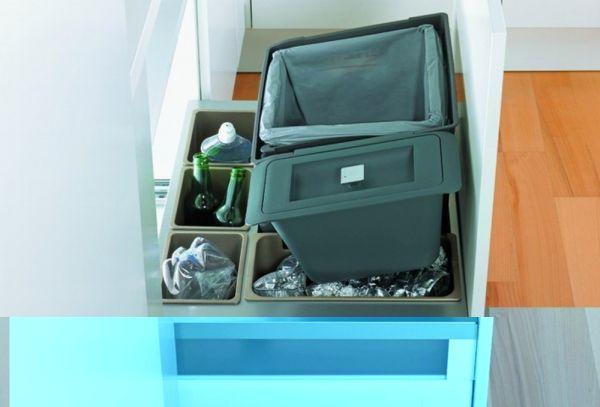 Pojemniki, sortowniki, kosze na śmieci – wyposażenie szafek
