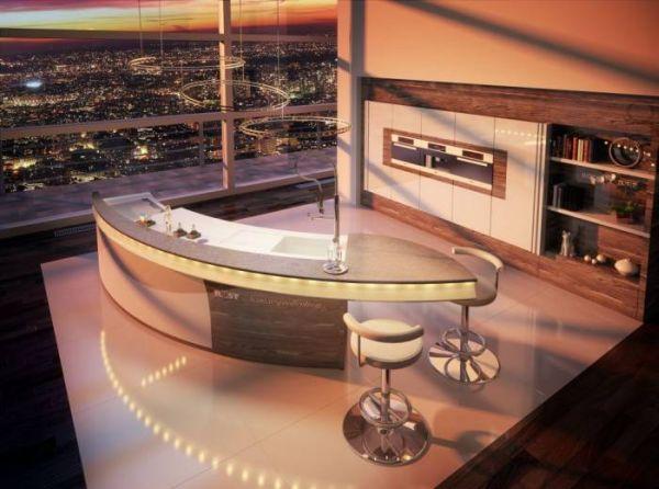 Kuchnia w apartamencie – luksusowe meble kuchenne